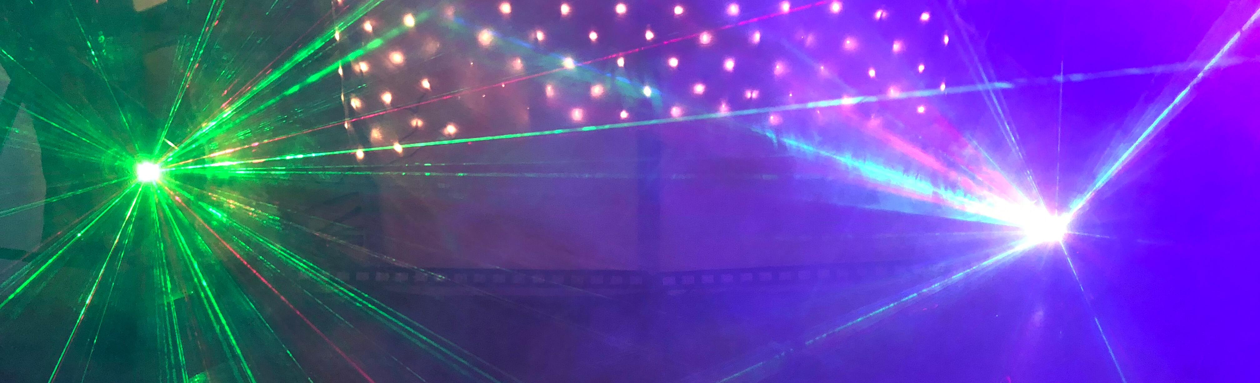 licht effecten en geluid verhuur