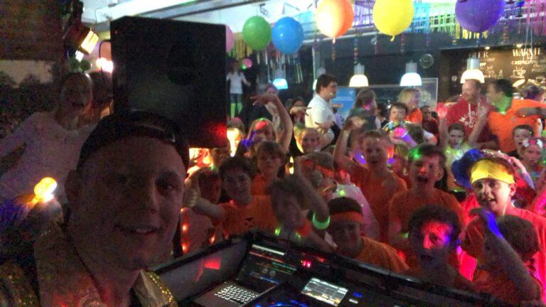 Kinderdisco Kids DJ Edwin